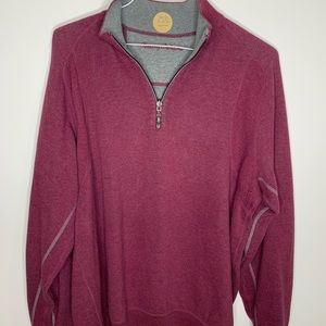 Tommy Bahama 1/2 Zip Pullover